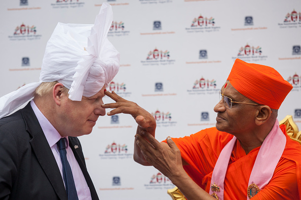Hinduism「Boris Johnson Visits New Shree Swaminarayan Mandir Hindu Temple Site」:写真・画像(16)[壁紙.com]