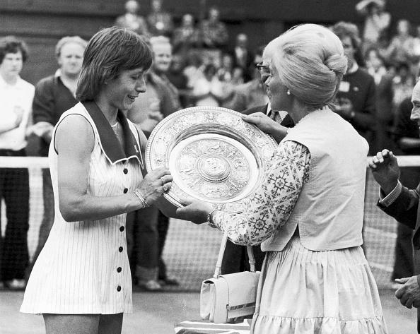 Winning「Martina Navratilova」:写真・画像(4)[壁紙.com]