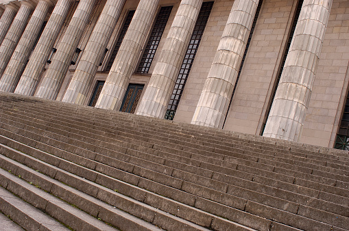Buenos Aires「Stairs and columns law building」:スマホ壁紙(18)