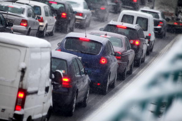 Traffic「Freezing Temperature Hit Germany」:写真・画像(12)[壁紙.com]