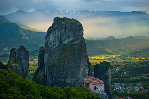 Thessaly「Greek Monastery, Meteora, Greece」:スマホ壁紙(19)