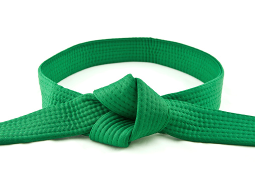 Martial Arts「Karate Belt  Green」:スマホ壁紙(11)