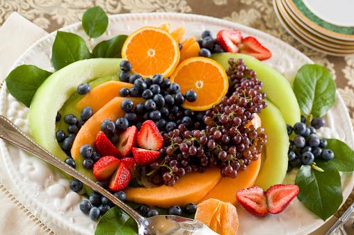 メロン「Fresh fruit platter」:スマホ壁紙(7)