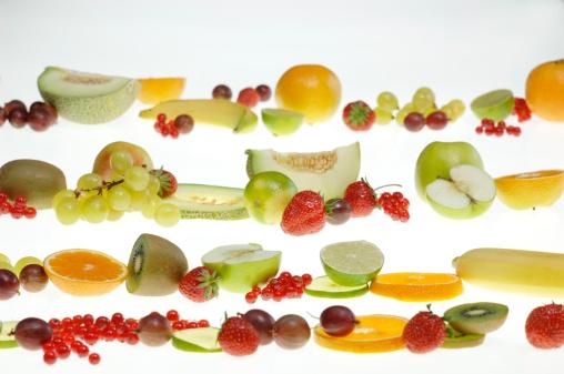 豊富「Fresh fruits in a row」:スマホ壁紙(6)