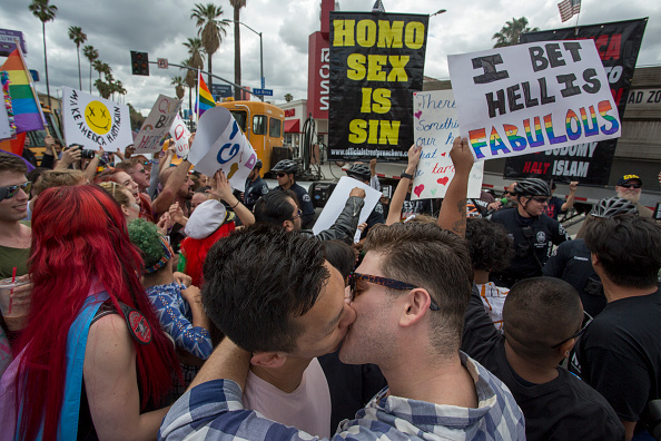 LGBTQI Rights「L.A. Pride Cancels Annual Parade In Favor Of Protest March」:写真・画像(16)[壁紙.com]