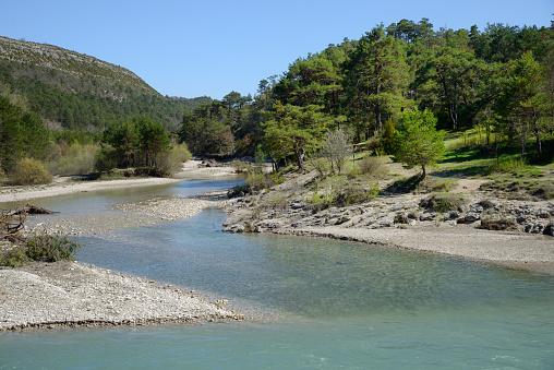 Alpes-de-Haute-Provence「Verdon & Jabron Rivers in the Verdon Gorge France」:スマホ壁紙(17)