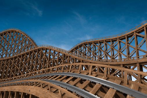 Rollercoaster「roller coaster track」:スマホ壁紙(17)