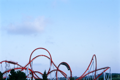 Amusement Park「Roller Coaster」:スマホ壁紙(15)