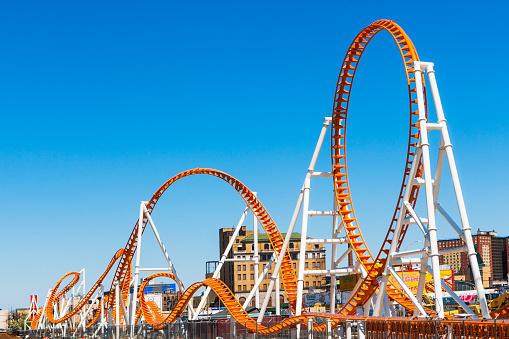 Day「roller coaster, Coney Island」:スマホ壁紙(2)