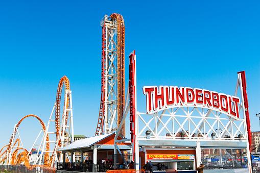 Coney Island - Brooklyn「roller coaster, Coney Island」:スマホ壁紙(19)
