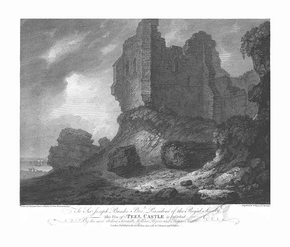 Circa 14th Century「Peel Castle」:写真・画像(15)[壁紙.com]