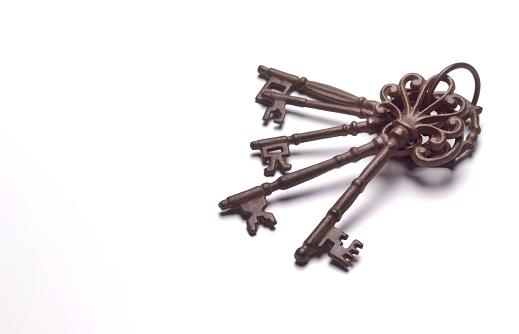Skeleton Key「Group of rusty old keys」:スマホ壁紙(12)