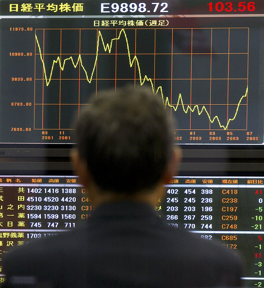 Focus On Background「Nikkei Average Hits Ten Month Closing High」:写真・画像(7)[壁紙.com]