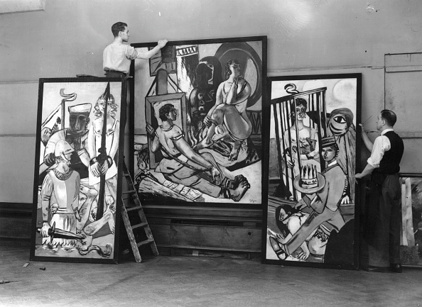 Art Museum「Beckmann Triptych」:写真・画像(11)[壁紙.com]