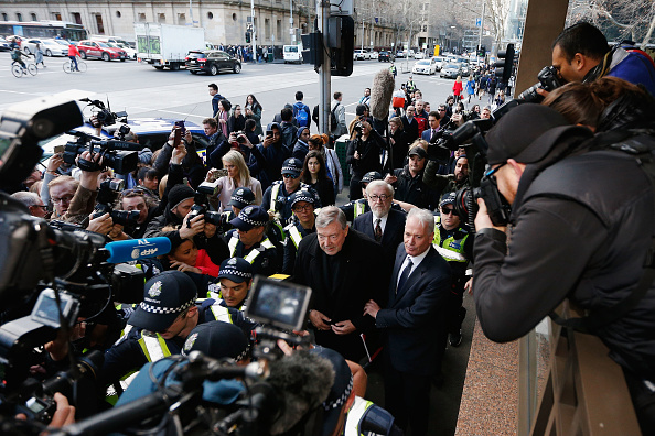 Horizontal「Cardinal George Pell Attends Court To Face Historical Child Abuse Charges」:写真・画像(17)[壁紙.com]