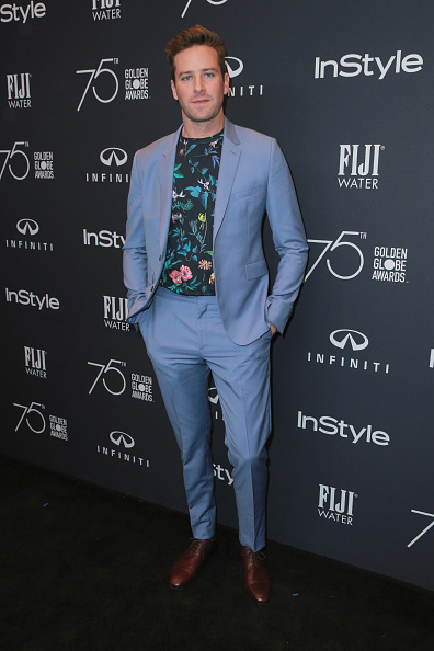 Armie Hammer「Hollywood Foreign Press Association And InStyle Celebrate The 75th Anniversary Of The Golden Globe Awards - Arrivals」:写真・画像(6)[壁紙.com]