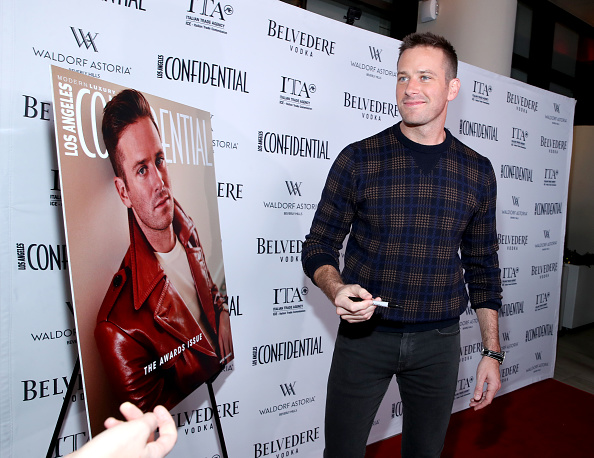 Armie Hammer「Los Angeles Confidential And Armie Hammer Celebrate The Annual Awards Issue With Belvedere Vodka」:写真・画像(7)[壁紙.com]