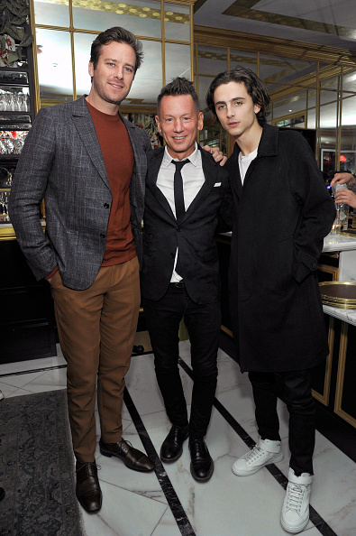 Armie Hammer「GQ and Oliver Peoples Celebrate Timothee Chalamet March Cover Dinner」:写真・画像(19)[壁紙.com]