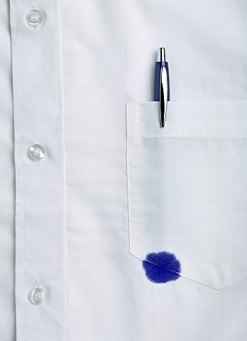 Ballpoint Pen「White shirt with a pen stain」:スマホ壁紙(12)