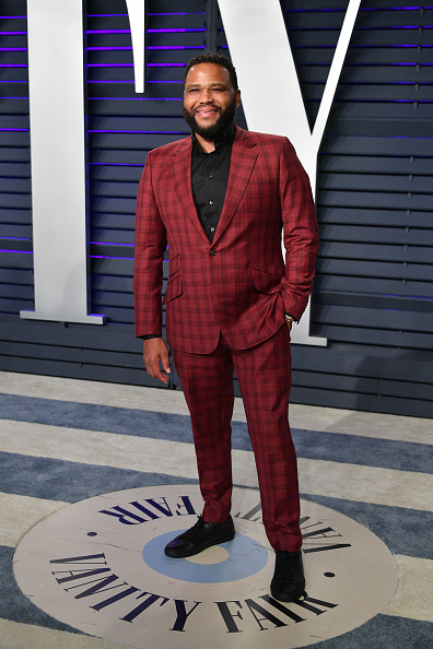 Checked Suit「2019 Vanity Fair Oscar Party Hosted By Radhika Jones - Arrivals」:写真・画像(6)[壁紙.com]