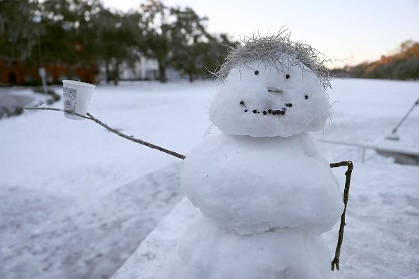 雪だるま「Massive Winter Storm Brings Snow And Heavy Winds Across Large Swath Of Eastern Seaboard」:写真・画像(5)[壁紙.com]