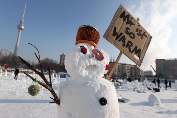 雪だるま「Snowman Performance Against Global Warming」:写真・画像(6)[壁紙.com]