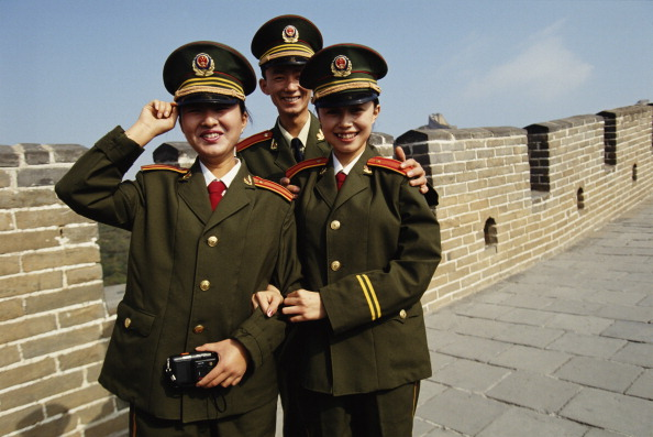 Asian and Indian Ethnicities「Soldiers On The Great Wall」:写真・画像(15)[壁紙.com]