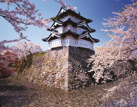Edo Period「Hirosaki Castle, Aomori Prefecture, Japan」:スマホ壁紙(19)