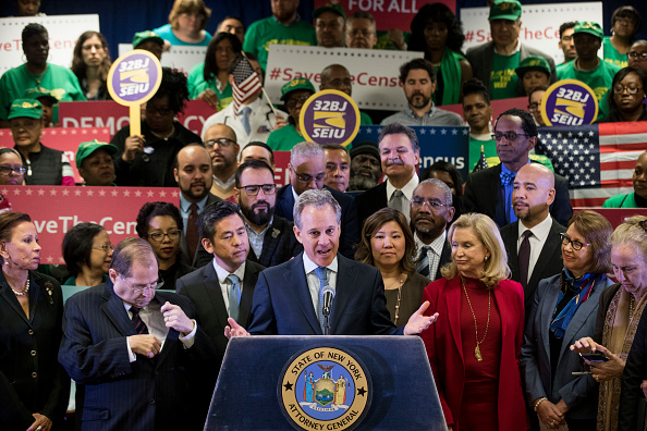 Citizenship「NY Attorney General Schneiderman Files Suit Against Trump Administration Over Census」:写真・画像(19)[壁紙.com]