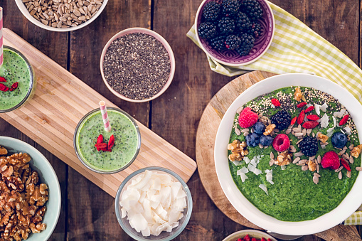 Bowl「Eating Healthy Superfood Dishes」:スマホ壁紙(9)