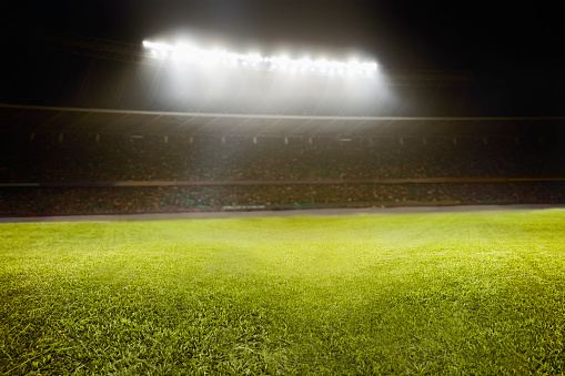 Lighting Equipment「View of athletic soccer football field」:スマホ壁紙(10)