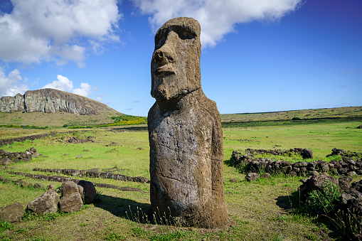 Volcanic Landscape「Ahu Tongariki Moai Easter Island Rapa Nui Isla de Pascua」:スマホ壁紙(14)