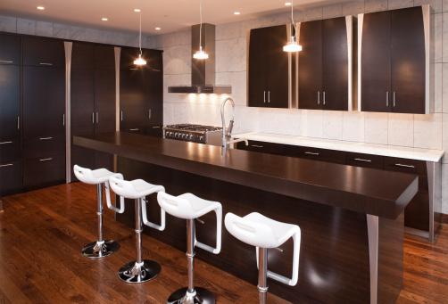 Stool「Modern and hip custom kitchen.」:スマホ壁紙(19)