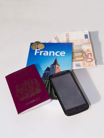 Guidebook「Travel documents misc wait on table」:スマホ壁紙(10)