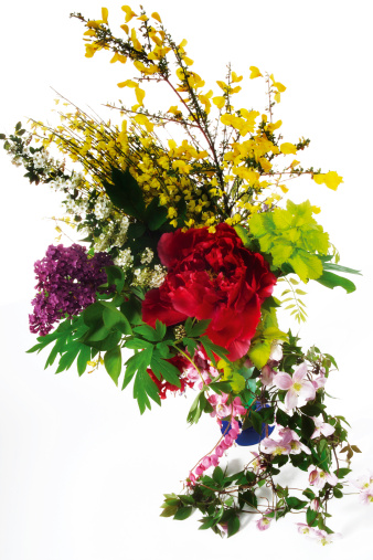 Azalea「Sring flowers bouquet, close-up」:スマホ壁紙(12)
