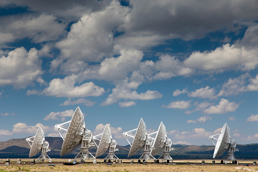 Radio Telescope「USA, New Mexico, Very Large Array radio astronomy observatory」:スマホ壁紙(16)