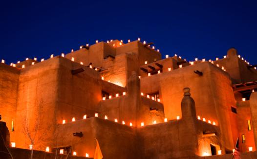 Santa Fe - New Mexico「USA, New Mexico, Santa Fe, night」:スマホ壁紙(7)
