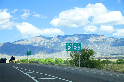 Sandia Mountains「New Mexico interstate 25 Sandia mountains」:スマホ壁紙(9)