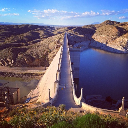 Auto Post Production Filter「USA, New Mexico, View of Elephant Butte Dam」:スマホ壁紙(11)