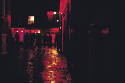 Amsterdam「red light district」:スマホ壁紙(7)