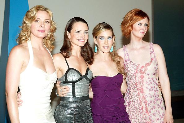 Cable Television「Cynthia Nixon, Sarah Jessica Parker, Kristin Davis and Kim Cattrall」:写真・画像(12)[壁紙.com]