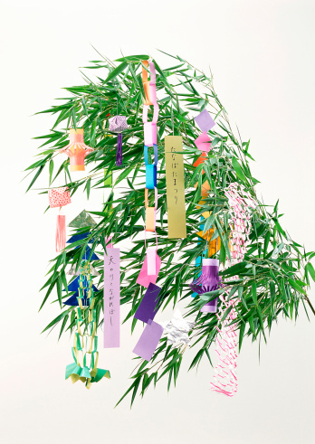 七夕「Star Festival Decoration」:スマホ壁紙(4)