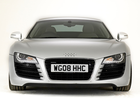 Facade「2008 Audi R8」:写真・画像(5)[壁紙.com]