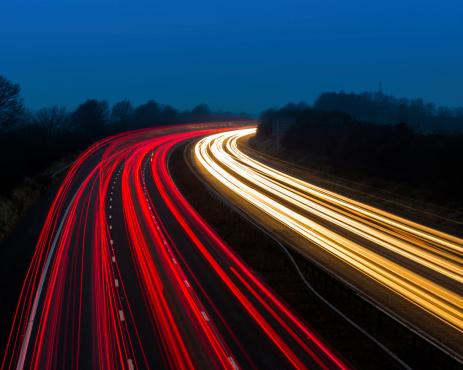 Town Square「Motorway Lights at Dusk」:スマホ壁紙(5)