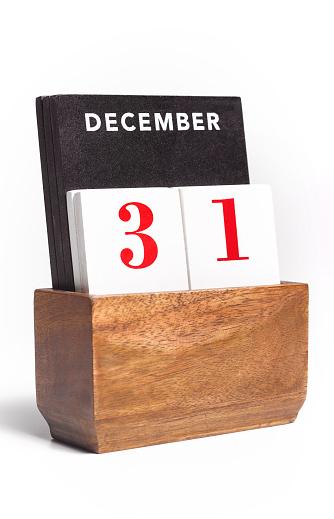 New Year「New Year's Eve desk Calendar」:スマホ壁紙(1)