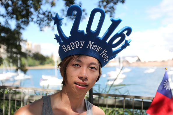 お正月「Sydney Celebrates New Year's Eve 2015」:写真・画像(1)[壁紙.com]