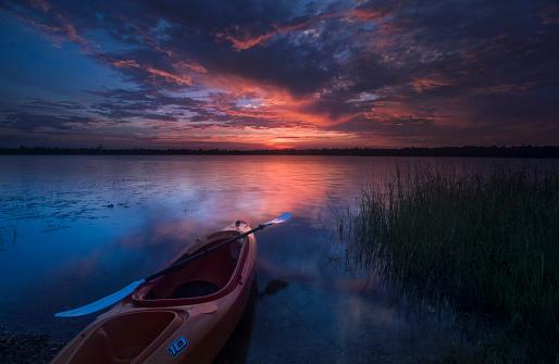 Republic of Ireland「Marl Lake Kayak Sunrise」:スマホ壁紙(17)