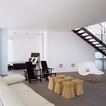 Stool「German penthouse with minimalist design」:スマホ壁紙(18)