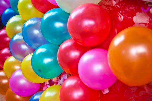 Birthday「balloon」:スマホ壁紙(9)