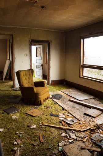 Accidents and Disasters「Disaster Damaged, Destroyed Home」:スマホ壁紙(7)